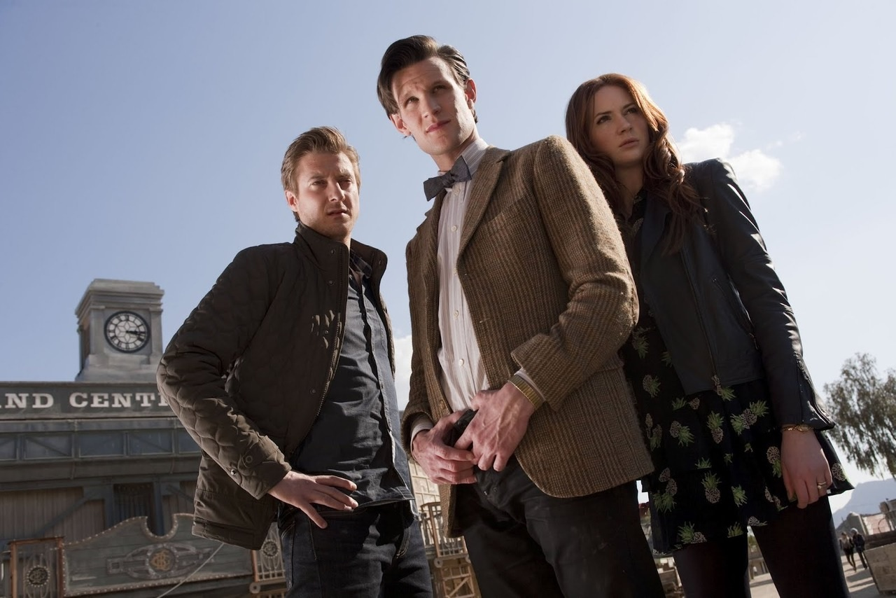 A Town Called Mercy - 11th Eleventh Doctor Matt Smith Amy Rory Pond