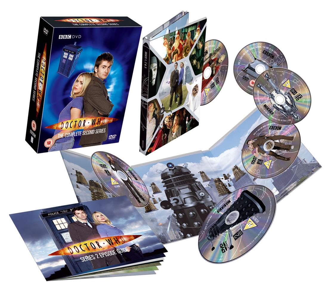 Series 2 Tenth 10th Doctor David Tennant Rose Tyler