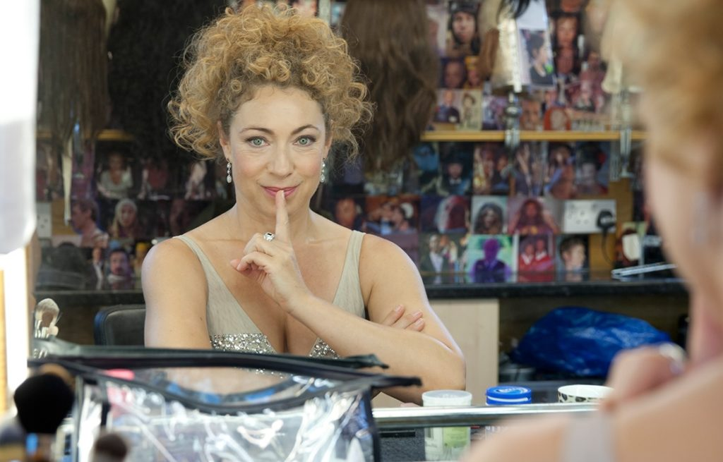 Spoilers River Song Alex Kingston