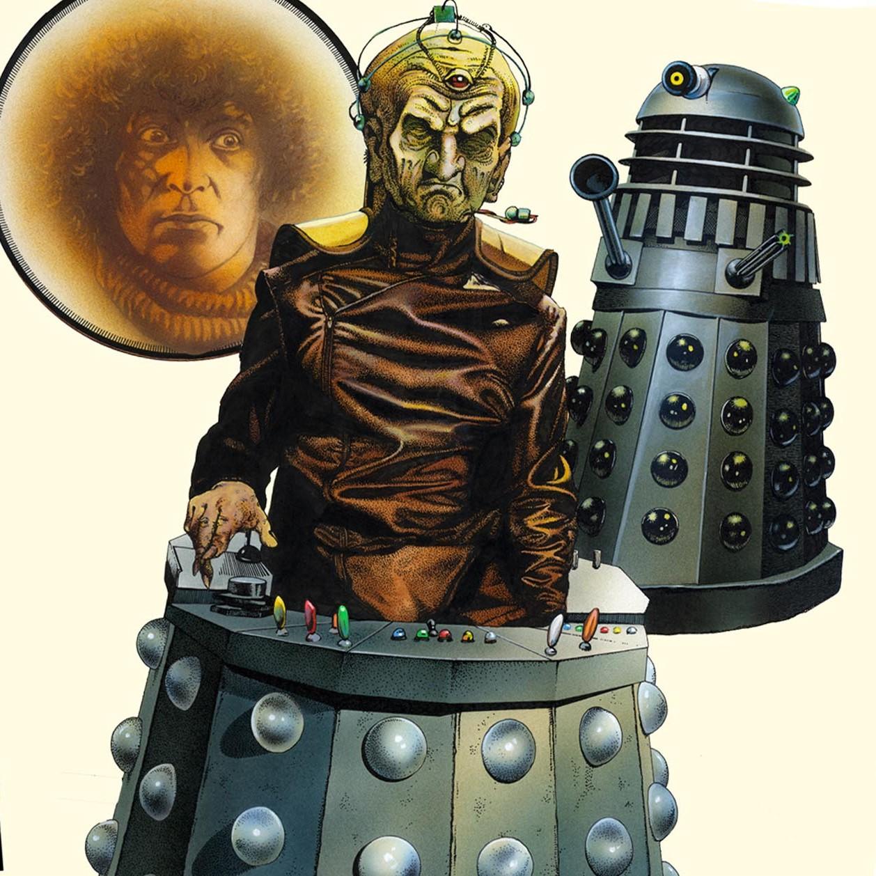 Target Genesis Daleks Achilleos