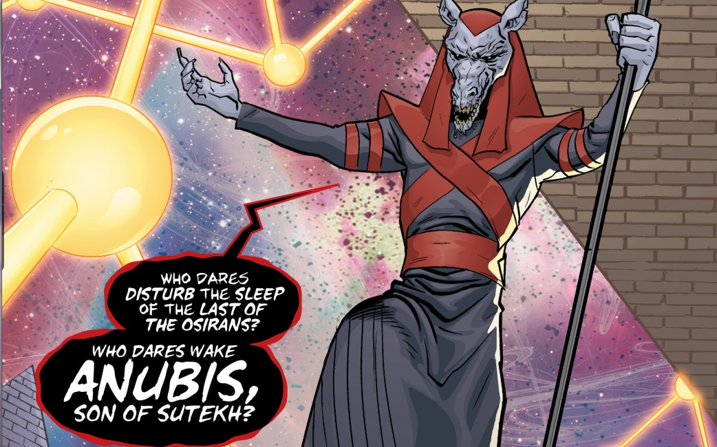 Anubis Tenth 10th Doctor Titan Comics