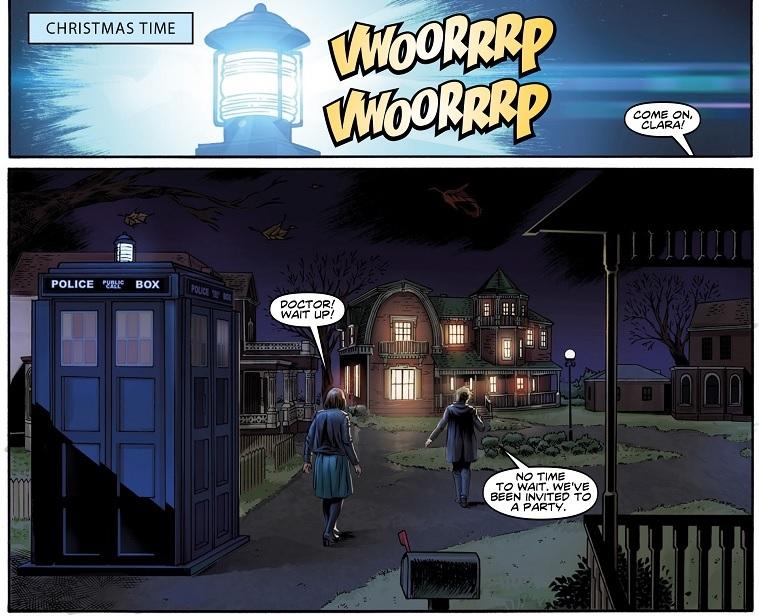 Twelfth Doctor #16 interior