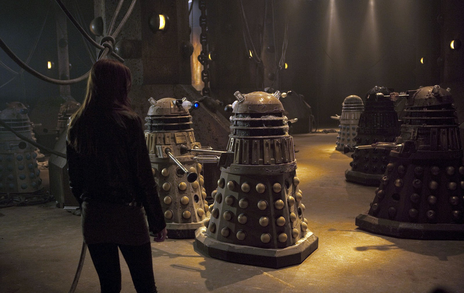 Asylum of the Daleks Ay Pond Karen Gillan