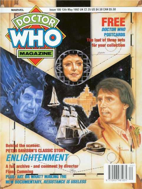 doctor who magazine 186