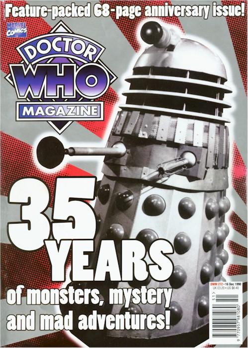 doctor who magazine 272