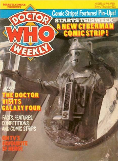 doctor who weekly 23