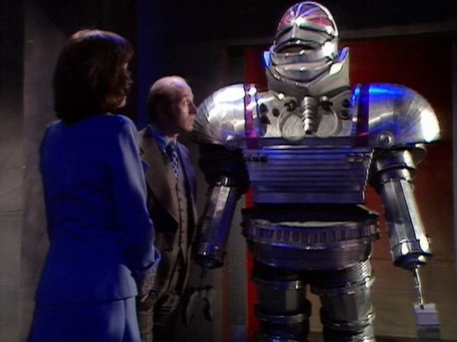 Robot Michael Kilgarriff