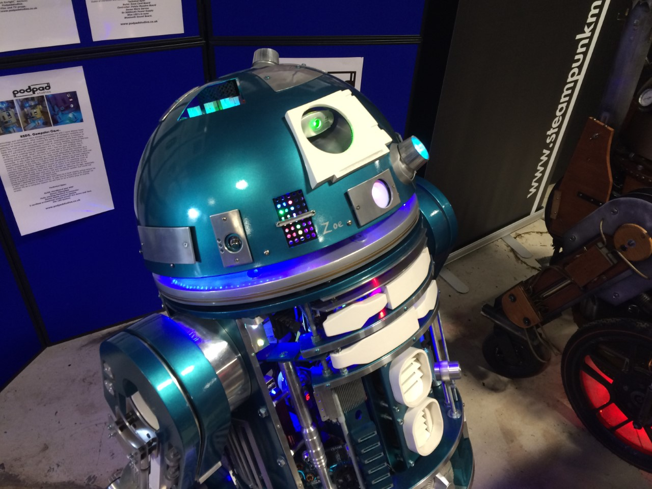 R2D2 Stars of Time