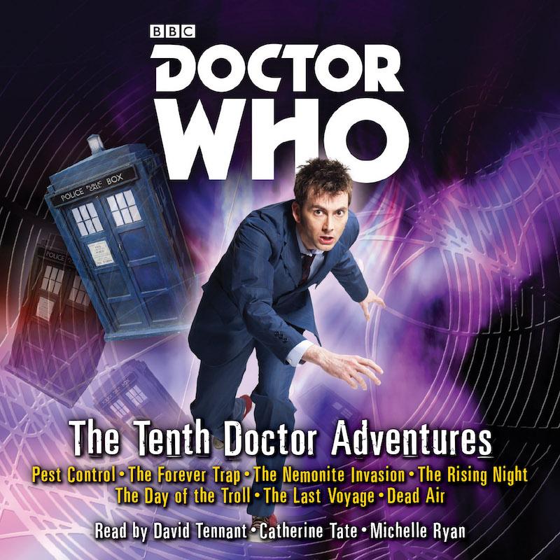tenth doctor audio books