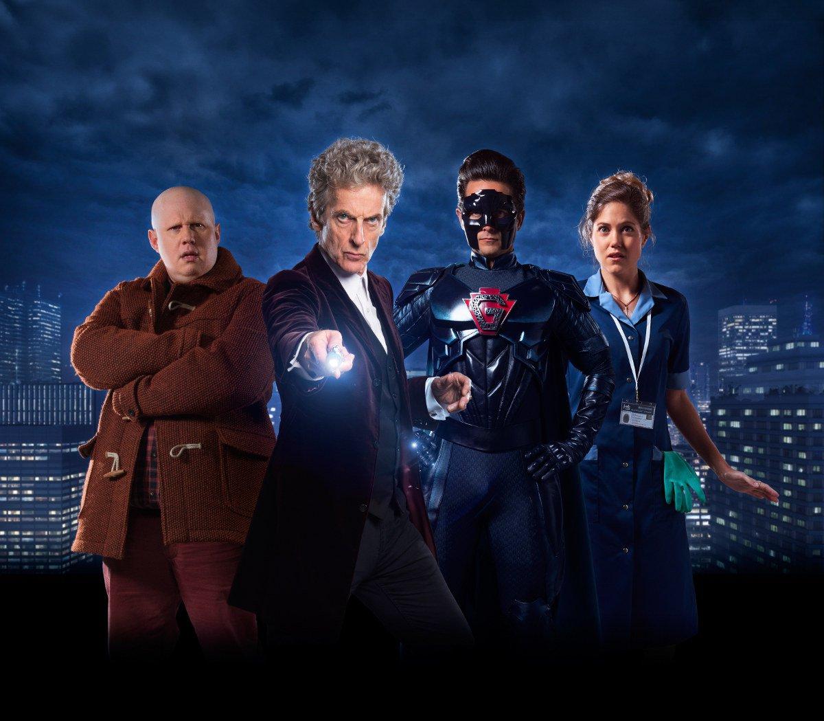 return-of-doctor-mysterio-12th-twelfth-peter-capaldi-charity-wakefield