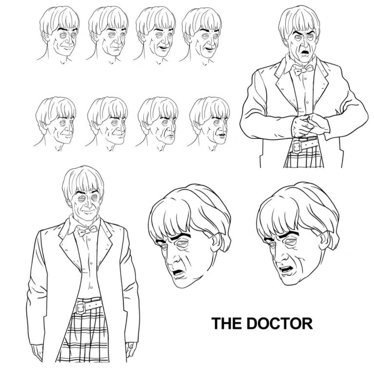 Power of the Daleks doctor_facesketches