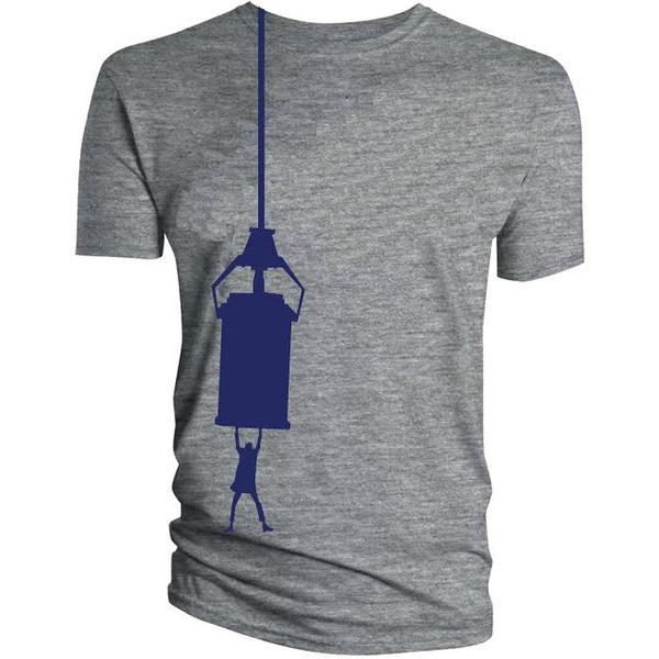 hanging-tardis-t-shirt