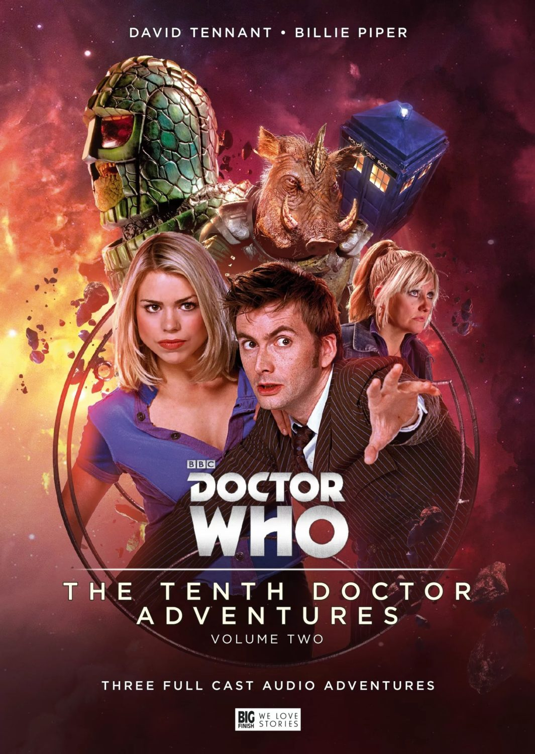 David Tennant's Tenth Doctor & Billie Piper's Rose Tyler