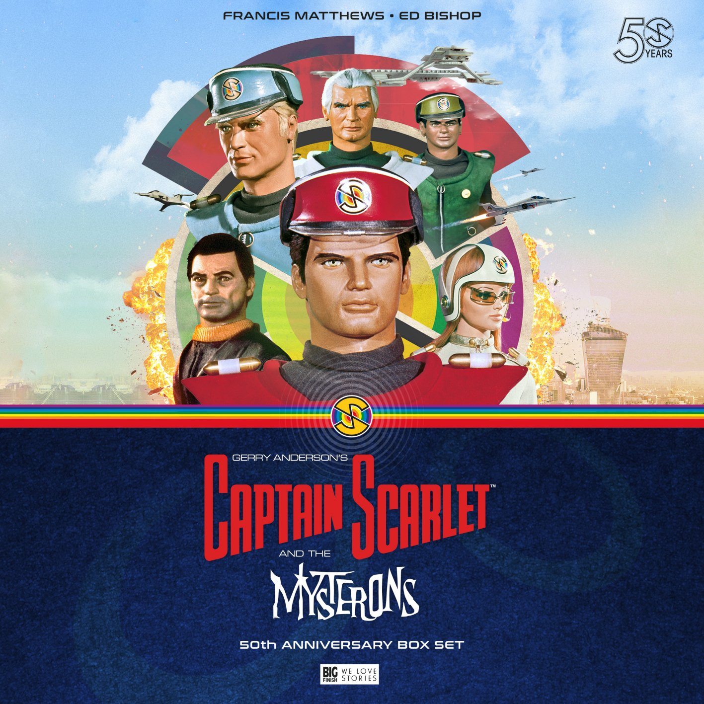 Everything You Need to Know About Big Finish's Captain Scarlet and the Mysterons!