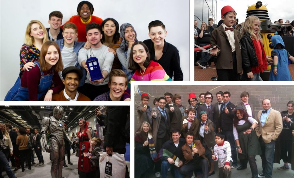 Doctor Who Fans Collage