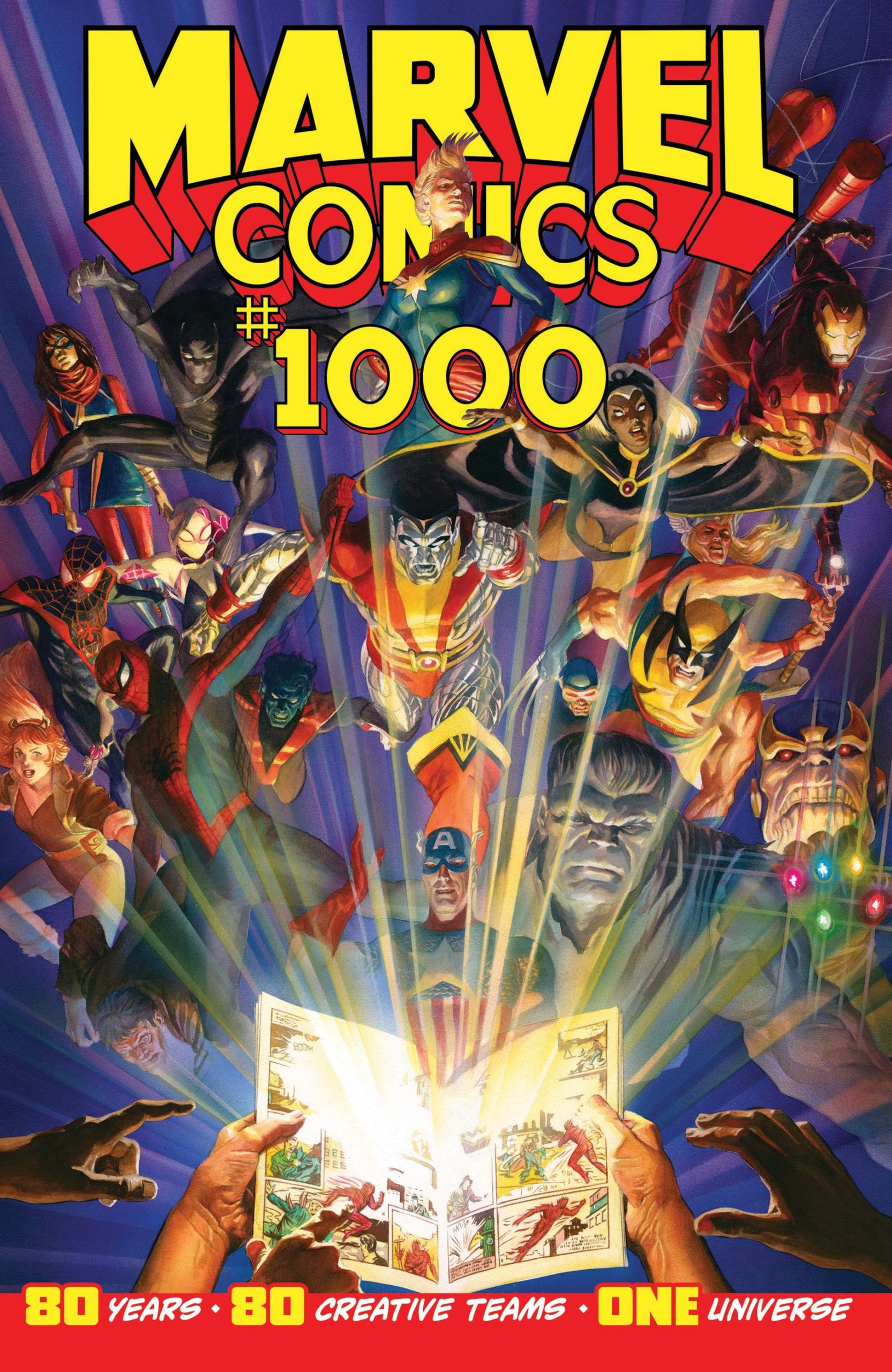 Reviewed: Marvel Comics #1000, Featuring Stories by Toby Whithouse and Neil Gaiman