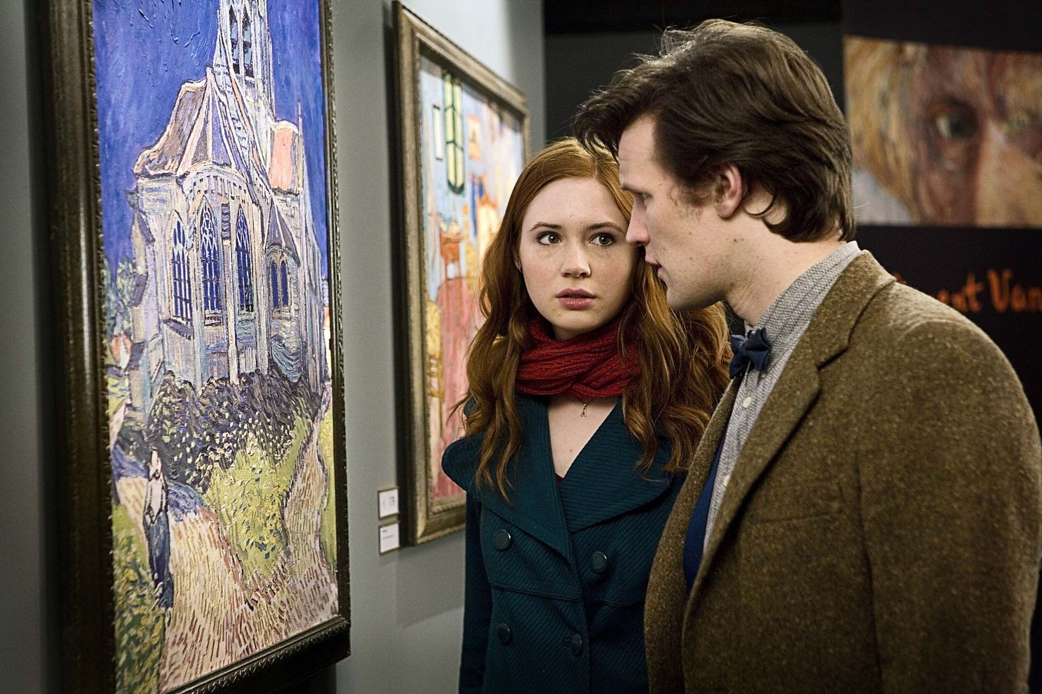 Vincent and the Doctor Trended on Twitter after Can You Hear Me? Aired