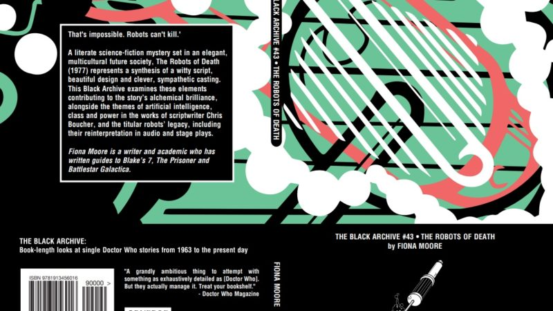 Out Now: Obverse Books' The Black Archive – The Robots of Death