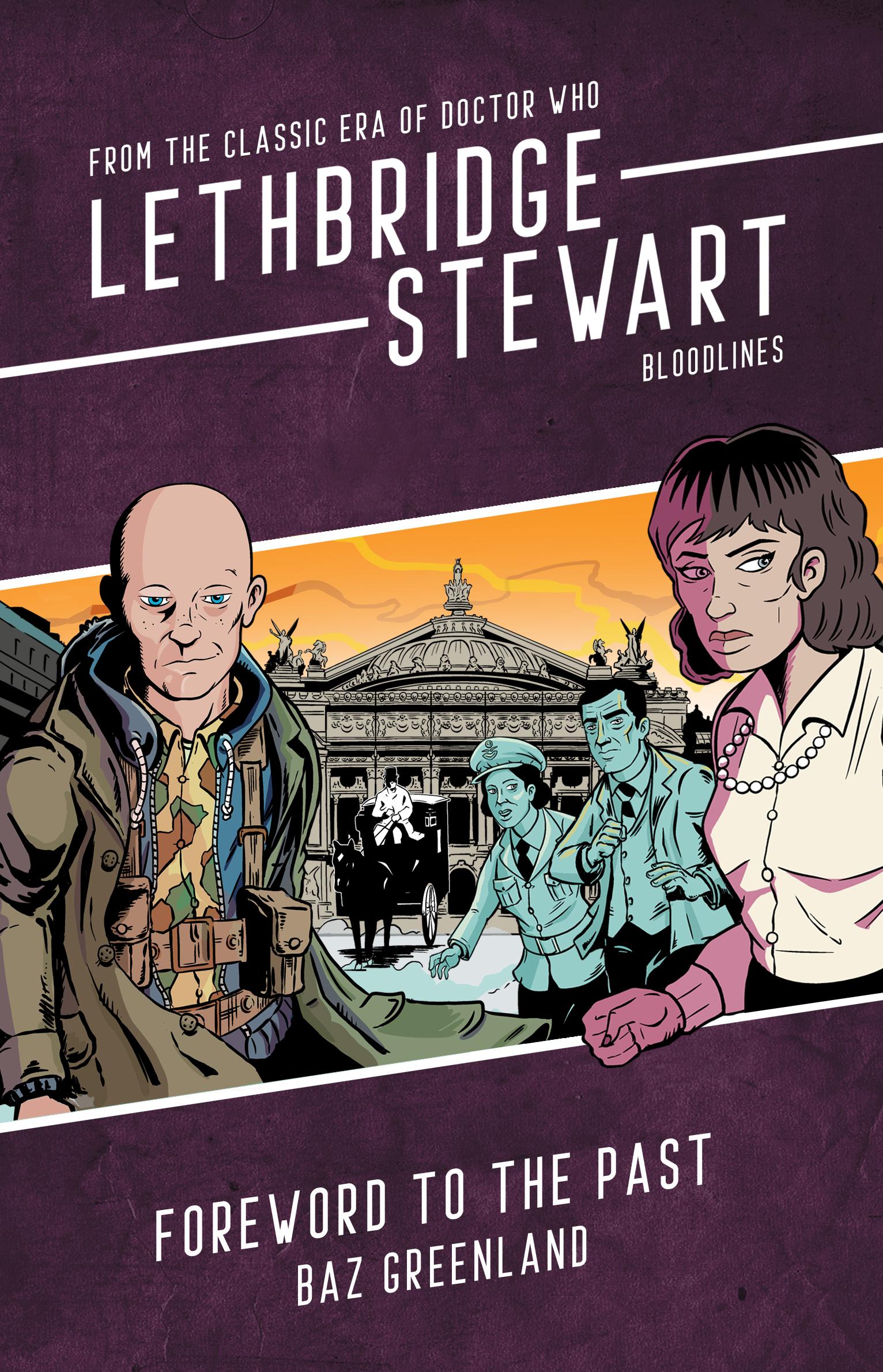 Pre-Order the Final Lethbridge-Stewart: Bloodlines Novel Now from Candy Jar