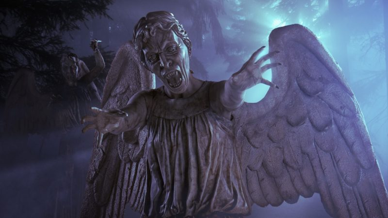 Steven Moffat Reveals The Weeping Angels Were Originally Going to Feature in Heaven Sent