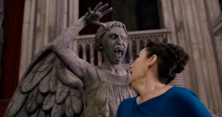 The Weeping Angels kill Dorothy Ames in the Class finale for failing them.