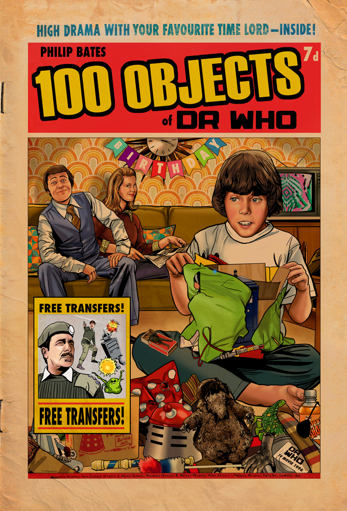 Out Now: 100 Objects of Doctor Who From Candy Jar Books — So What's Inside?