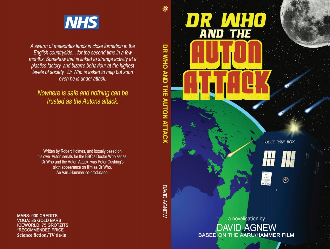 Obverse Books Releases Peter Cushing Dr Who Novels to Raise Funds for the NHS