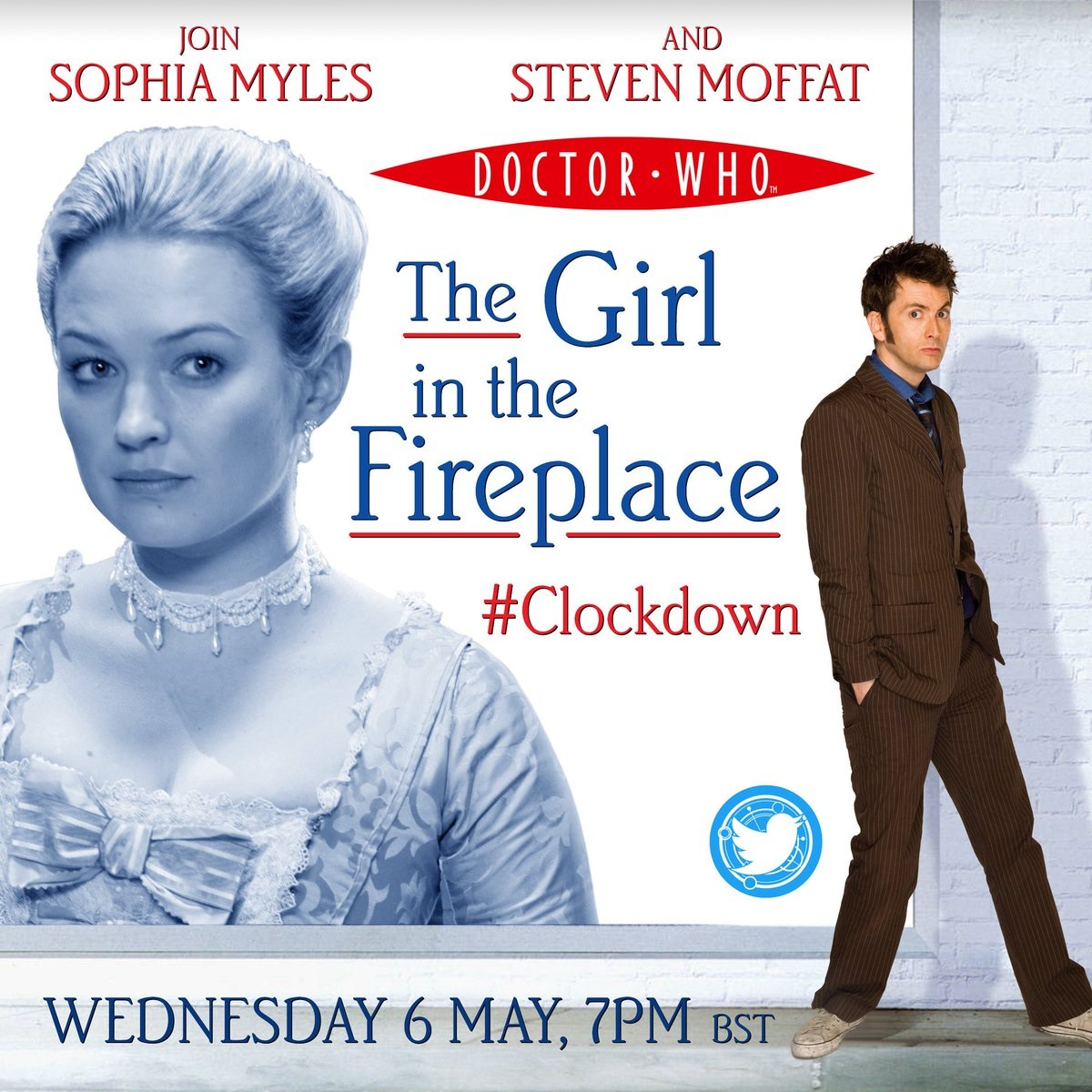 Join Steven Moffat and Sophie Myles in The Girl in the Fireplace Watch-Along
