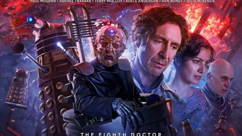 Davros and The General Return for Big Finish's The Time War Volume 4