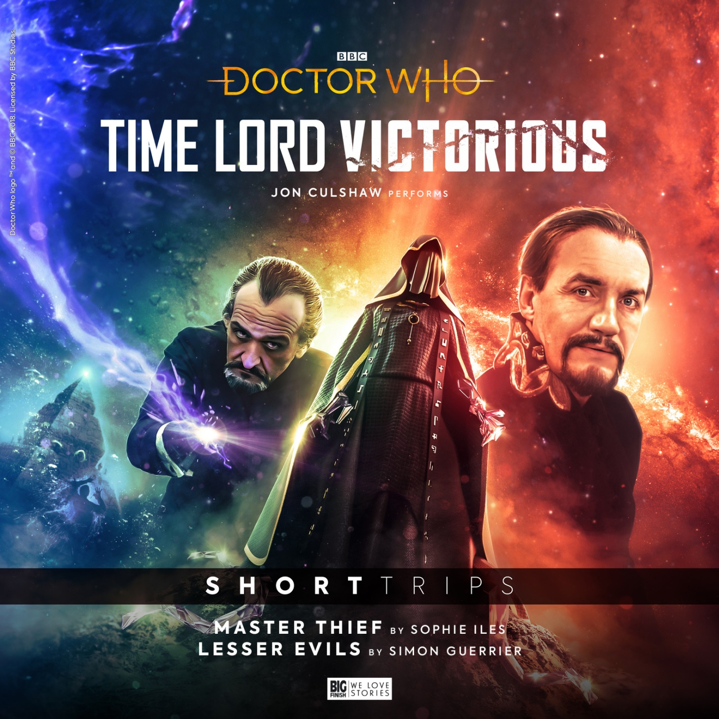 Reviewed: Big Finish's Time Lord Victorious – Master Thief / Lesser Evils