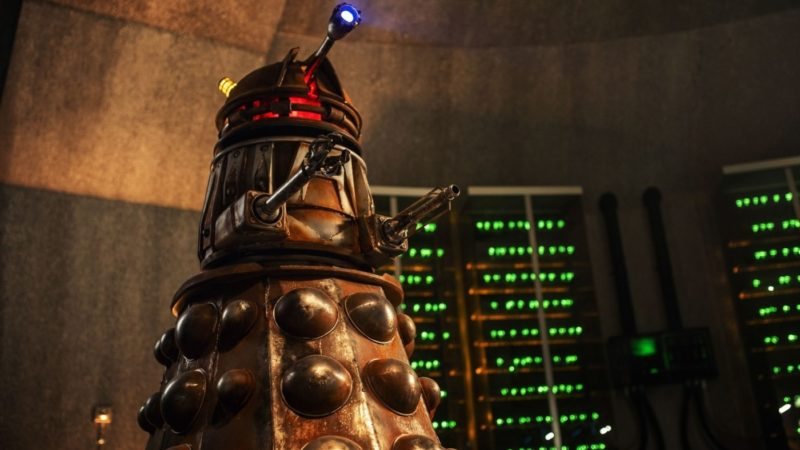 Leaked Photos of Revolution of the Daleks Gives Closer Look at New Dalek Design