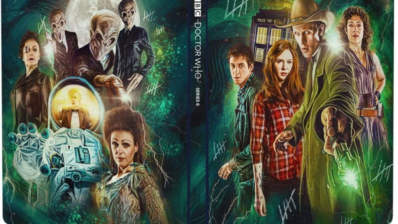 Available to Pre-Order Now: Doctor Who Series 6 Steelbook
