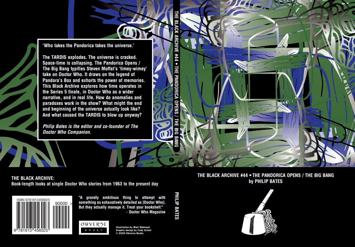 Out Now: The Black Archive – The Pandorica Opens/ The Big Bang (by the DWC's Editor)