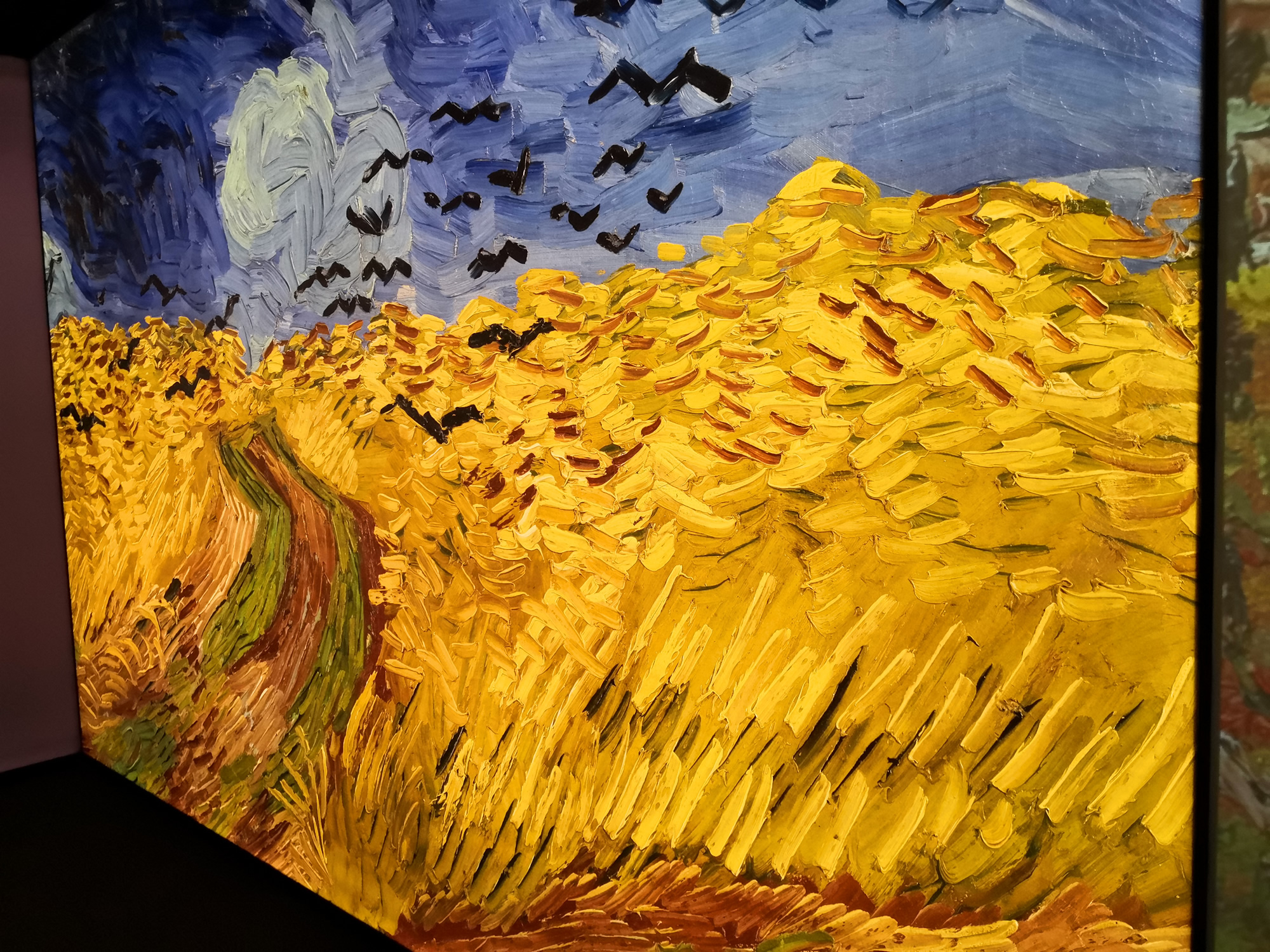 The Van Gogh Experience on London's South Bank
