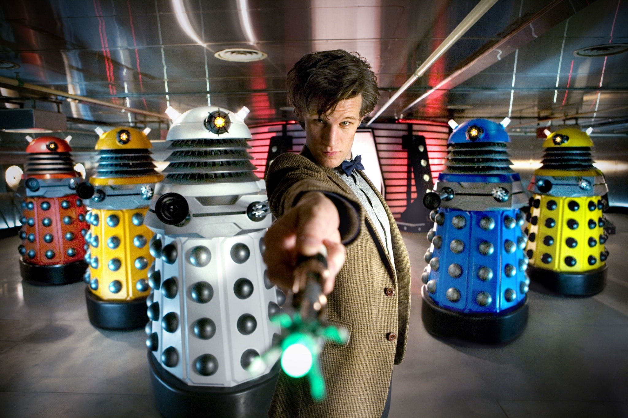 Defending the Paradigm Daleks from Series 5's Victory of the Daleks