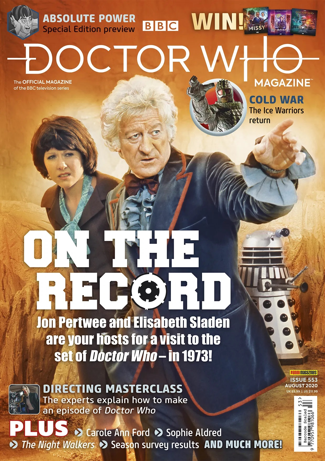 Out Now: Doctor Who Magazine #553