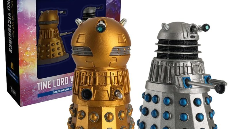 Hero Collector Announces Time Lord Victorious Dalek Figurines