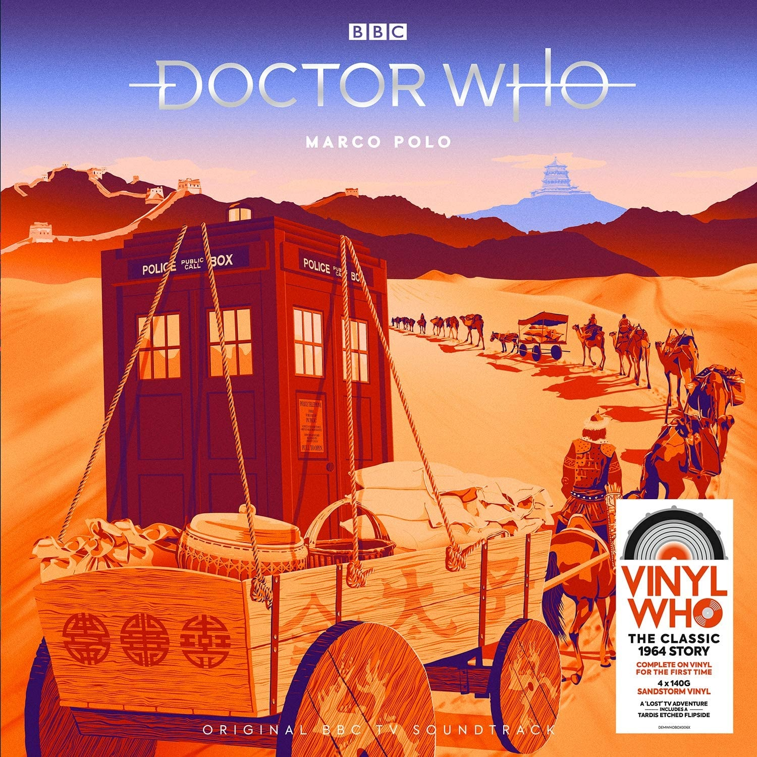 Out Now: Missing First Doctor Classic, Marco Polo on Vinyl