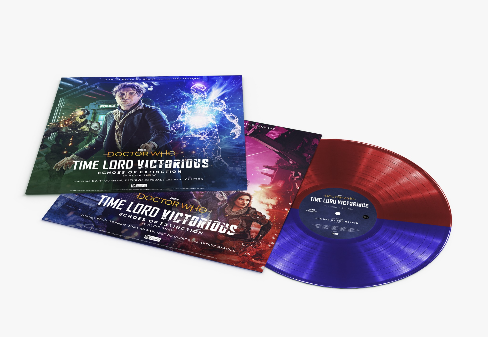 David Tennant and Paul McGann to Star in Time Lord Victorious Audios on Vinyl and Digital Download