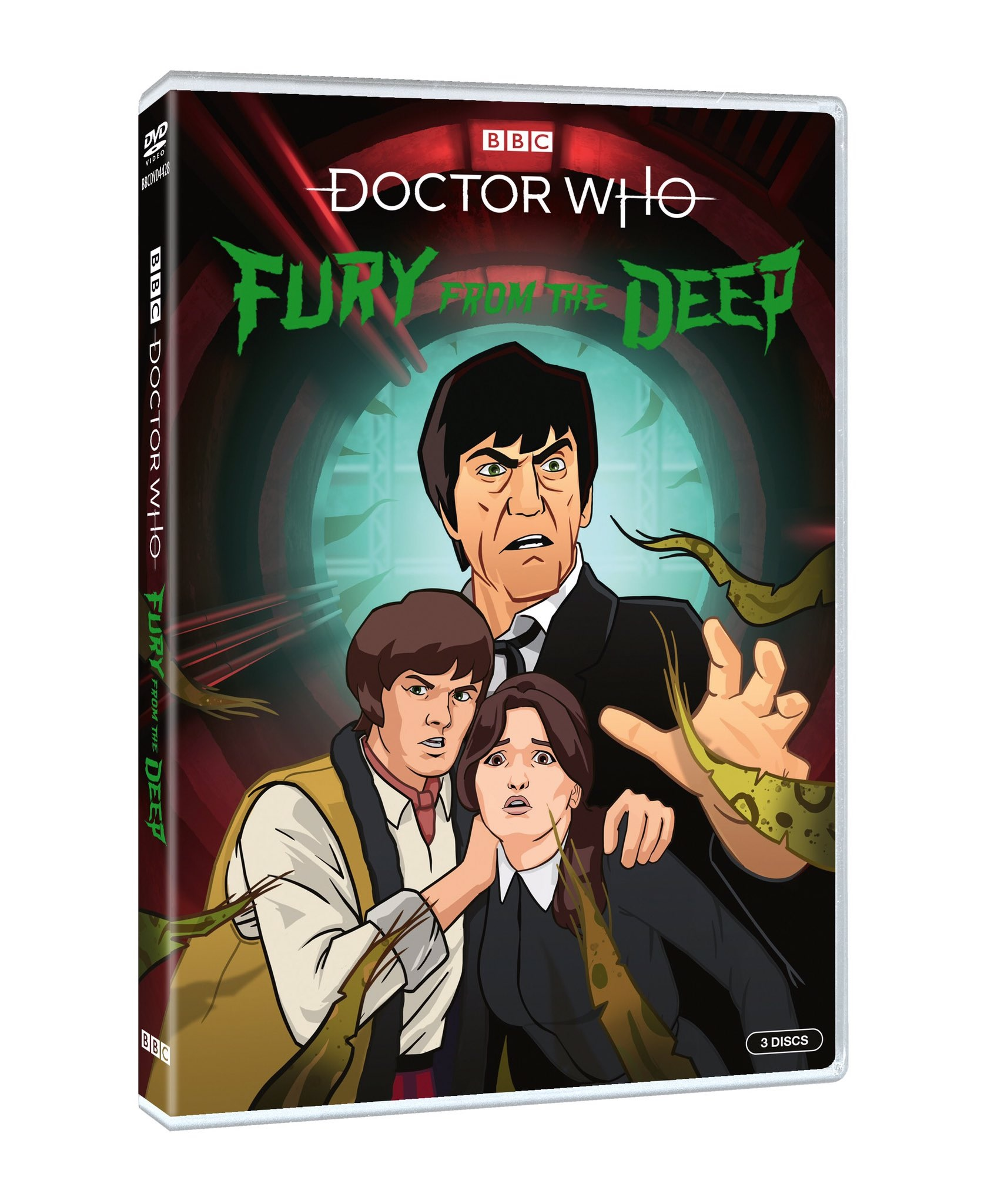 See the New Doctor Who Trailer for Fury from the Deep Animation