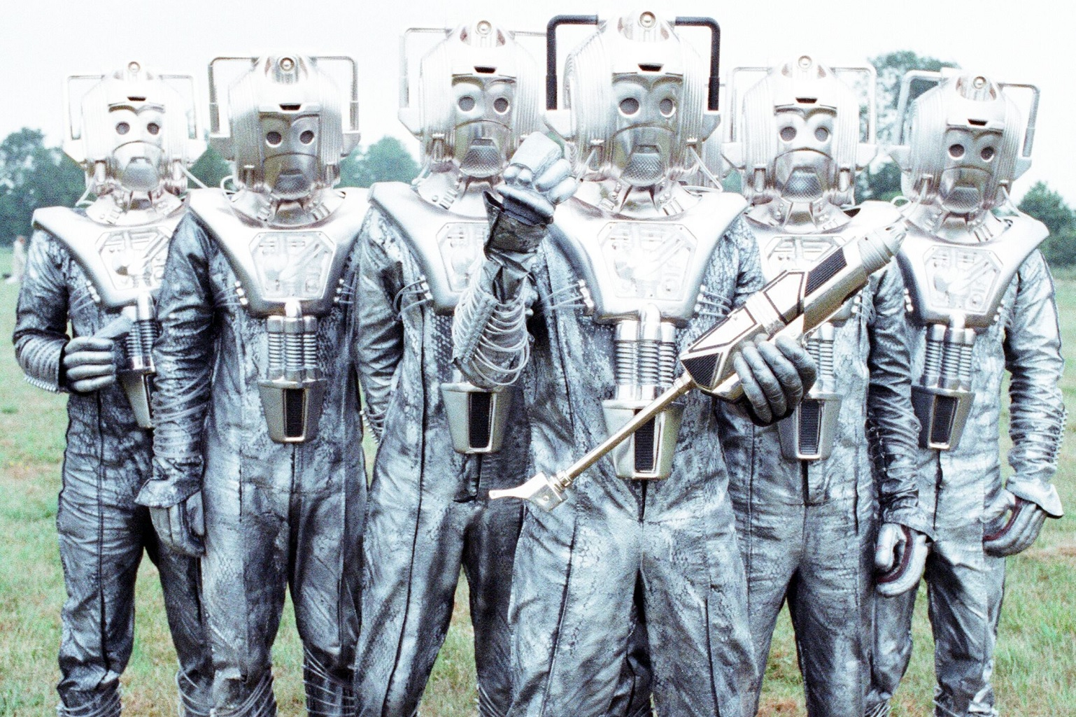 A Brief History of the Cybermen: Evolution of the Species in Classic Doctor Who (Infographic)