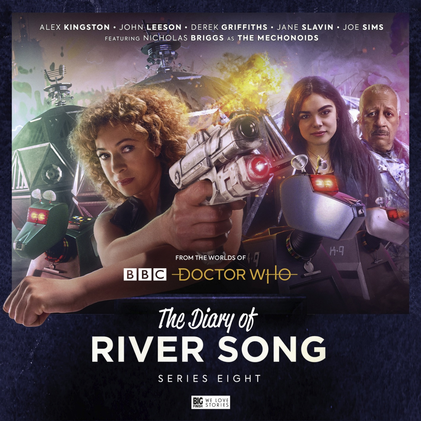 River Song Meets K9 in Big Finish's Diary of River Song Series 8