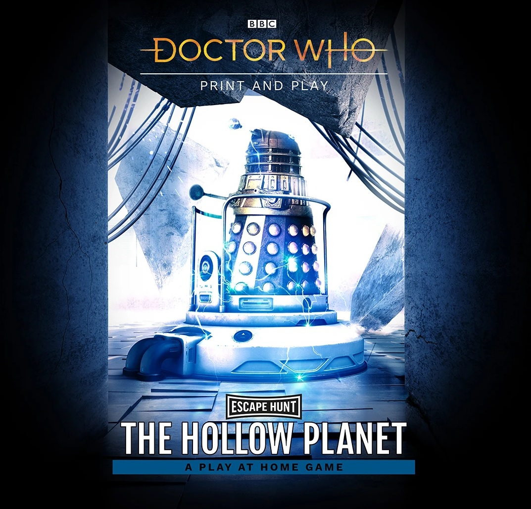 Escape Hunt Launches The Hollow Planet, a Print-And-Play Doctor Who Game To Enjoy at Home