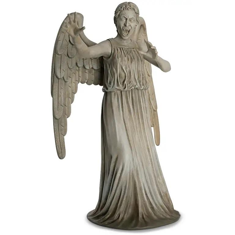 Check Out Eaglemoss' Awesome Mega-Sized Weeping Angel Figurine