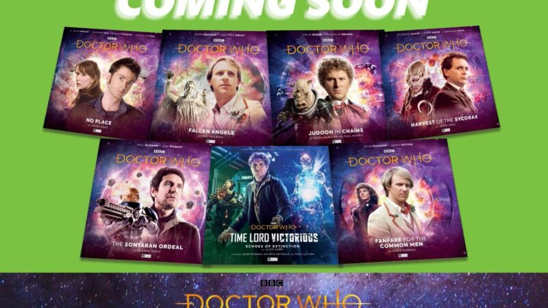 Limited Edition Big Finish Audios to be Released on Vinyl in Select ASDA Stores