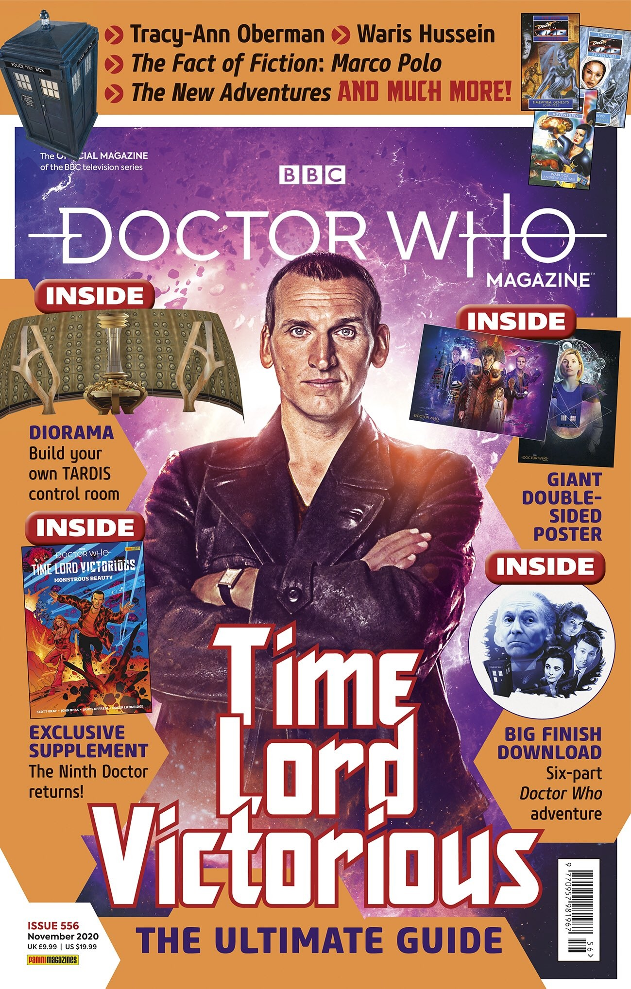 Out Now: The Ninth Doctor Returns for Time Lord Victorious in Doctor Who Magazine #556