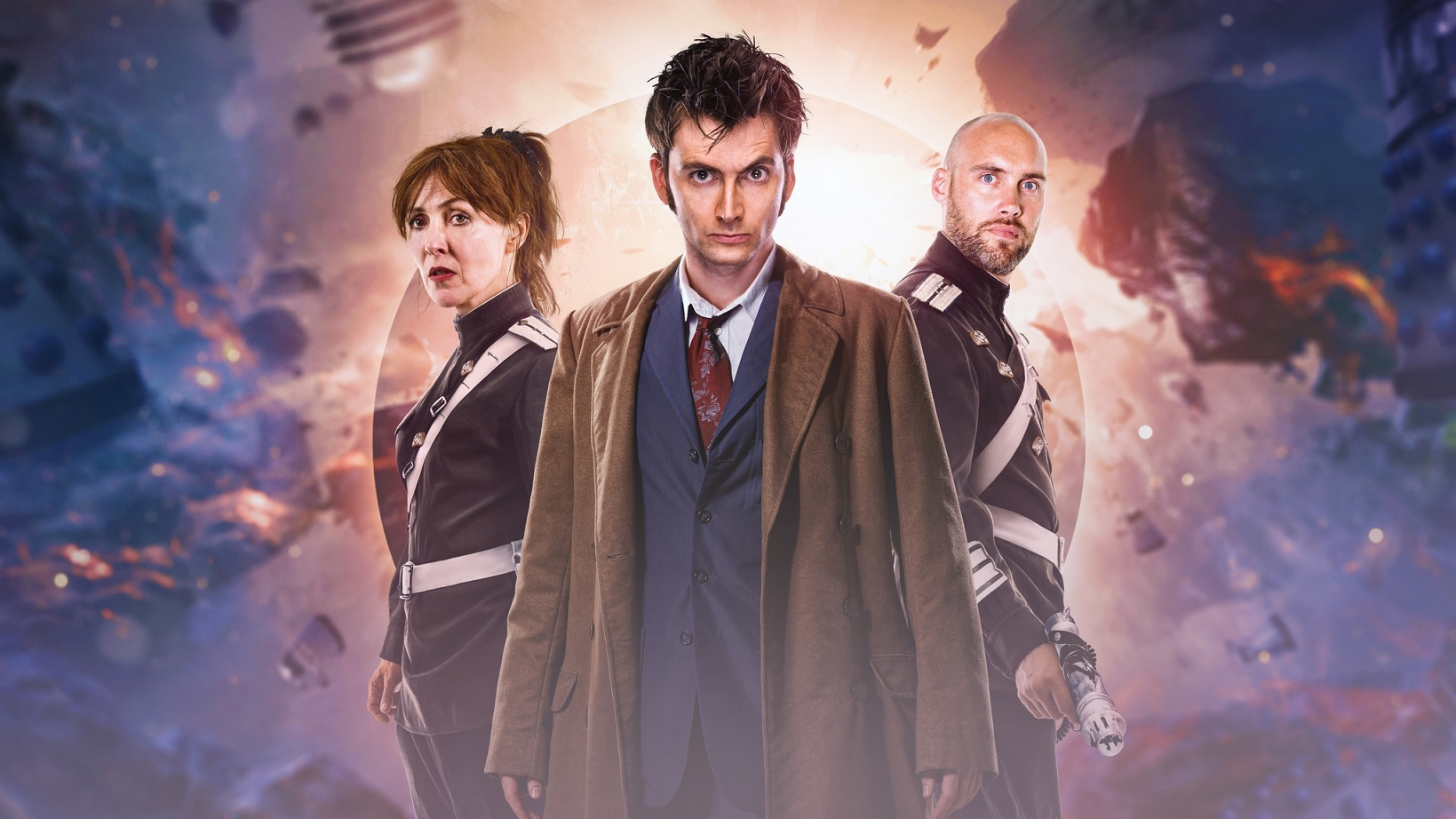 David Tennant's Tenth Doctor Returns to Star in Dalek Universe, a New Series for Big Finish