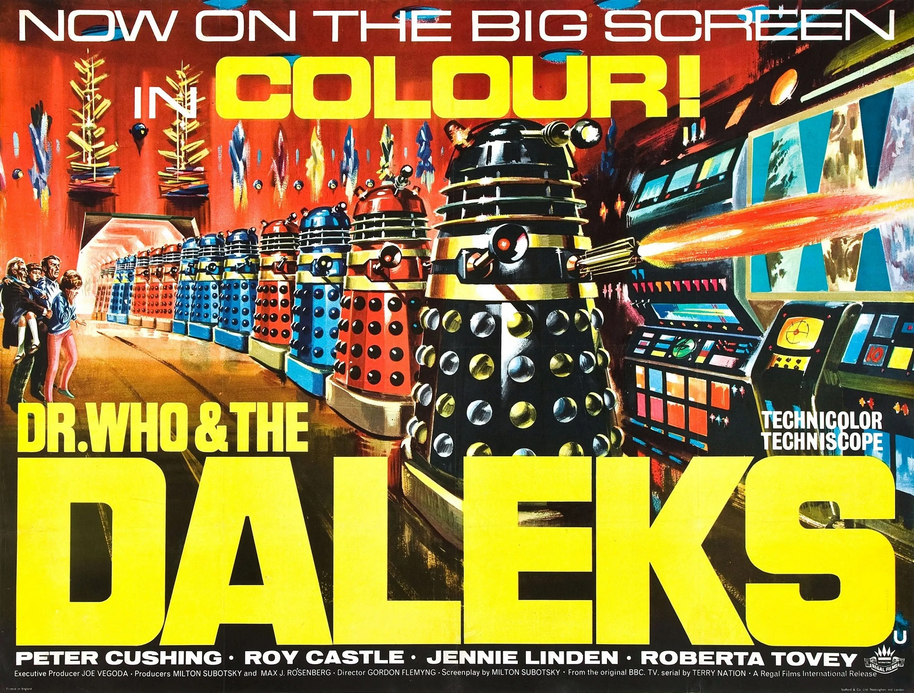 Dr Who and the Daleks to Air on Talking Pictures TV Next Month