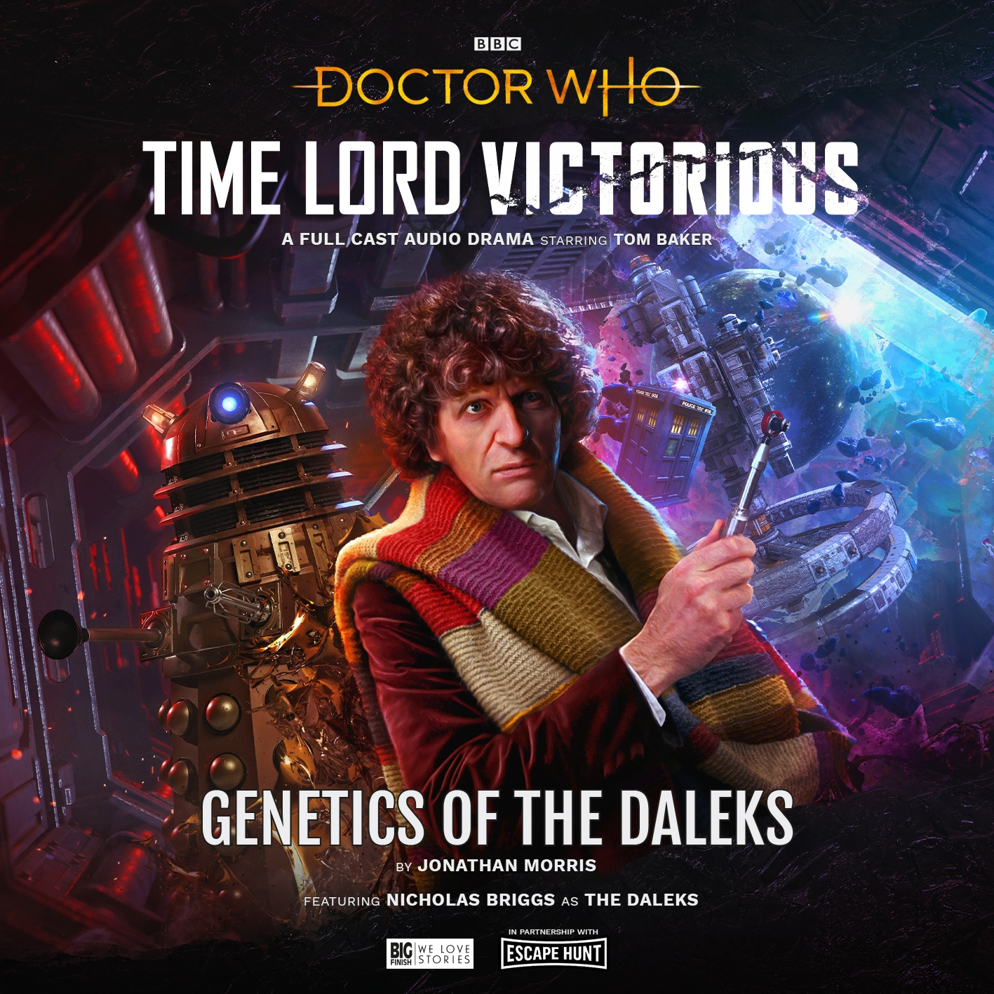 Reviewed: Big Finish's Time Lord Victorious – Genetics of the Daleks