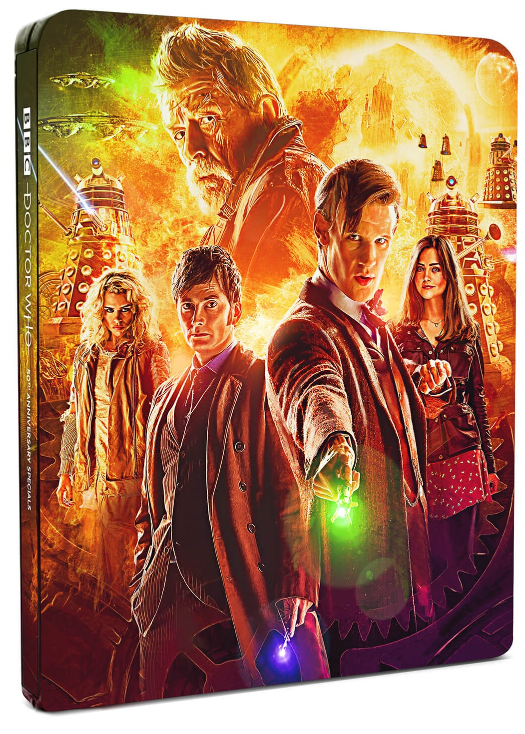 Coming Soon: Doctor Who Limited Edition 50th Anniversary Steelbook